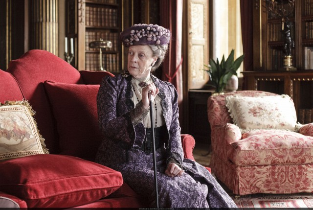 Maggie Smith als Lady Violet © ITV/Carnival Films/Nick Briggs